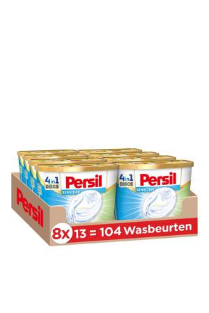 Persil Discs Sensitive wasmiddel capsules - 104 wasbeurten - 104 wasbeurten