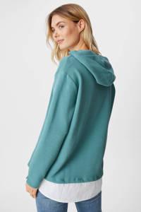 C&A hoodie lichtblauw, Lichtblauw