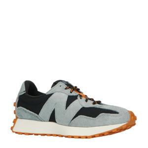 327  sneakers zwart/grijs