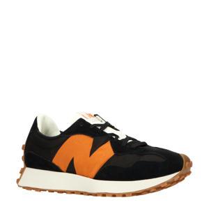 327  sneakers zwart/camel