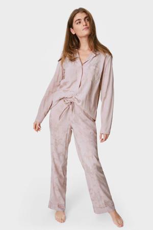 pyjamabroek lichtroze