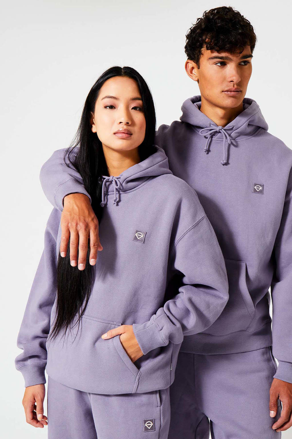 America Today sweater Sierra Hood dark lila, Dark lila
