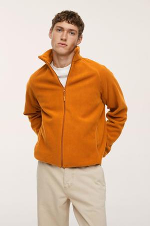 fleece vest oranje