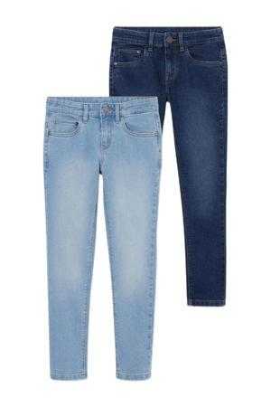 straight fit jeans light denim/dark denim