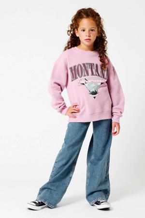 flared jeans Olivia  stonewashed