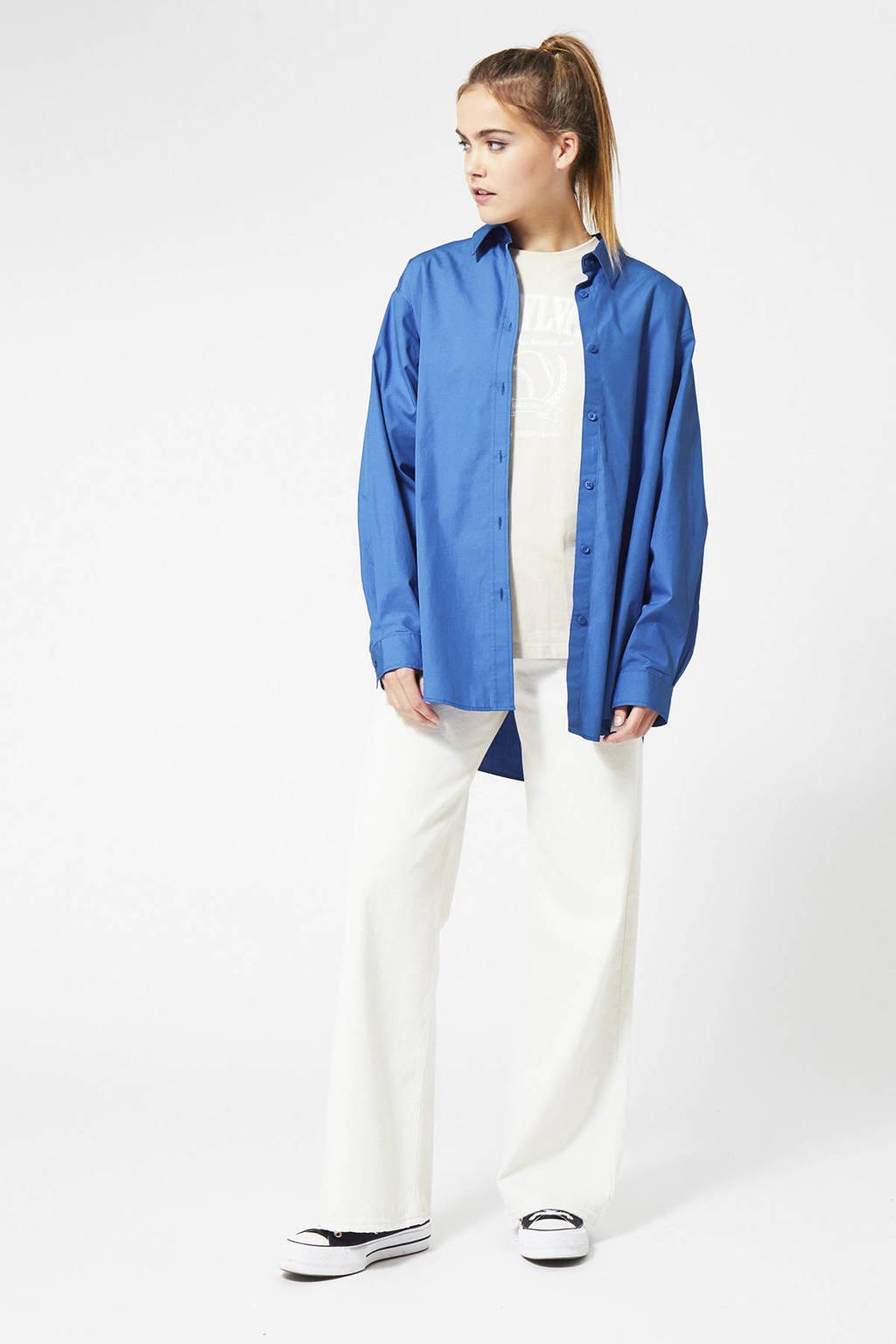 America Today blouse Becky kobalt, Kobalt
