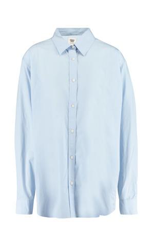blouse Becky lichtblauw