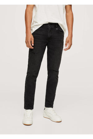 slim fit jeans donkergrijs