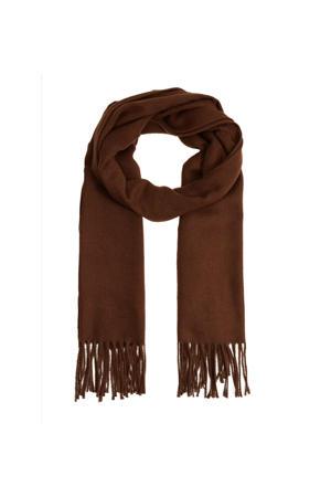 sjaal roodbruin
