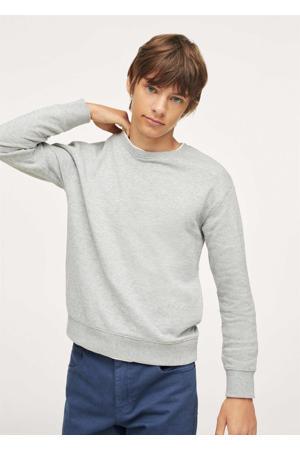 sweater middengrijs