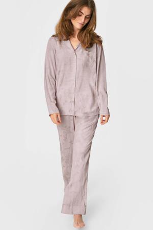 pyjamatop oudroze