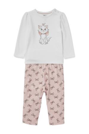 baby Aristocats pyjama van biologisch katoen oudroze