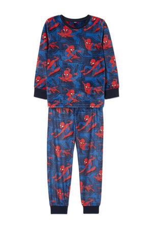 Spider-Man pyjama donkerblauw/rood
