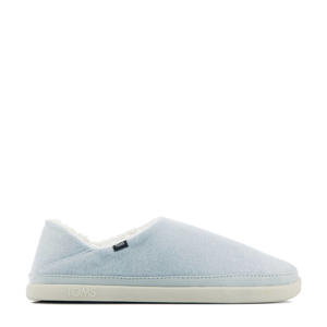 Ezra pantoffels lichtblauw