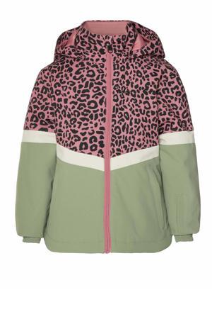 ski-jack Marjorel TD groen/roze