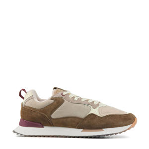 Nantes  suède sneakers bruin/multi