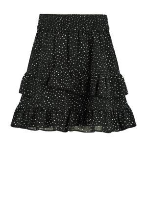 rok Riley met stippen zwart/wit