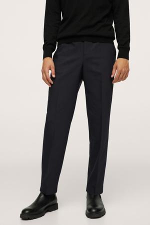 slim fit pantalon marine