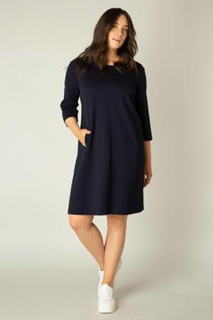 jurk Addy donkerblauw