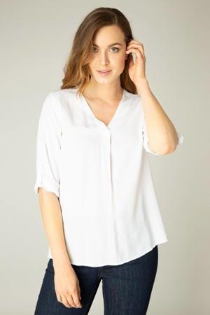 blousetop Yill viscose wit
