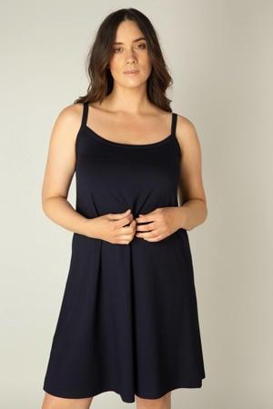A-lijn jurk Alissa donkerblauw