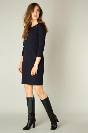 jurk Ylona 3/4 mouw donkerblauw