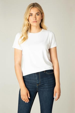 basic T-shirt Yalba wit