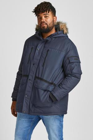 jas JJEGLOBE Plus Size navy blazer