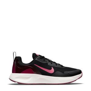 WearAllDay  sneakers zwart/fuchsia/ecru