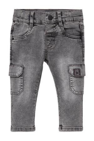baby regular fit jeans grijs