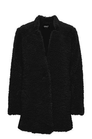 teddy jas ONLELLIE zwart