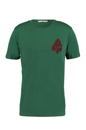 T-shirt Lenno van biologisch katoen dark green
