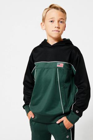 sweater groen/zwart