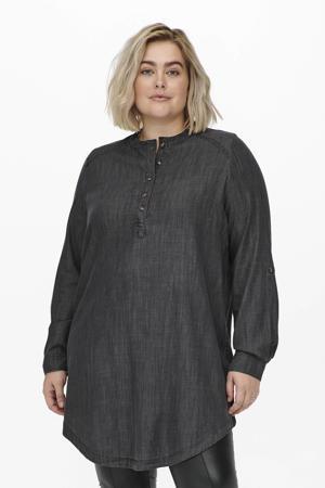 gemêleerde jurk CARMILANAS grijs