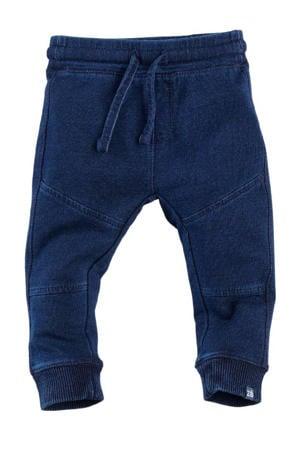 baby slim fit joggingbroek Marlin donkerblauw