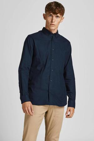 slim fit overhemd JPRBLAPERFECT navy blazer