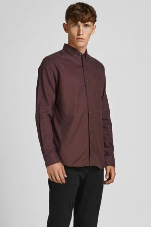 slim fit overhemd JPRBLAPERFECT fudge