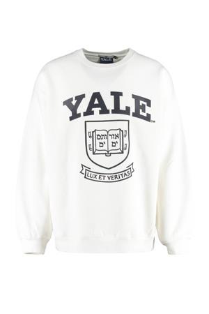 sweater met printopdruk snow white