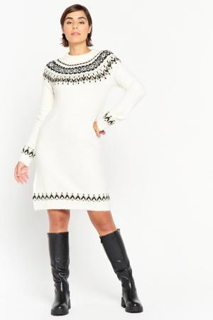 gebreide jurk wit