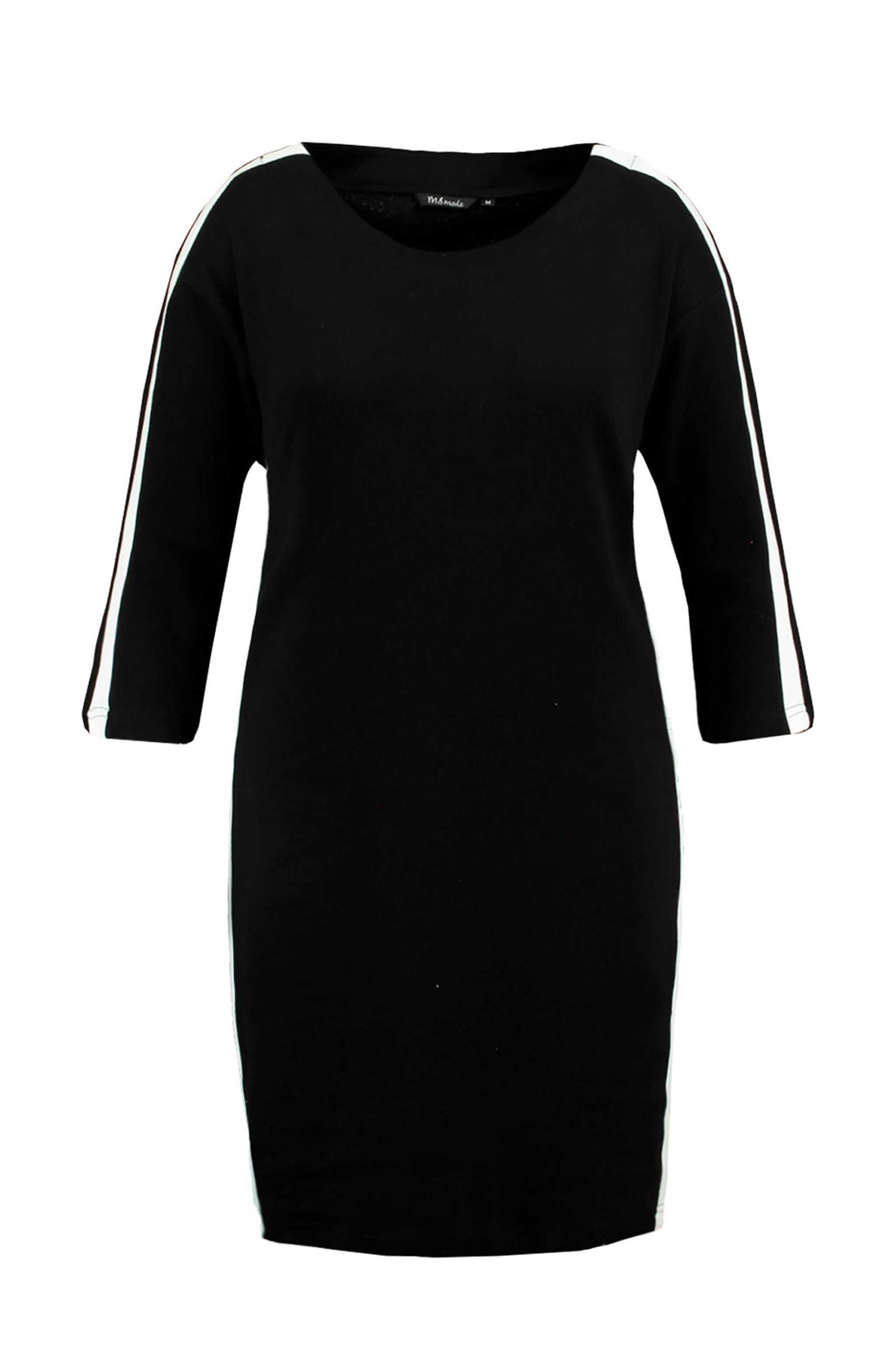 Verwonderlijk MS Mode jurk met zij-streep | wehkamp ZI-67