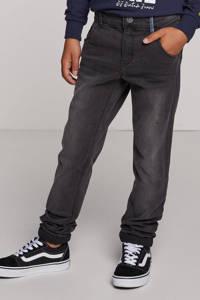NAME IT KIDS skinny fit jeans NITTRAP zwart, Dark grey denim
