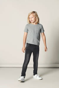 NAME IT KIDS Nittrap skinny fit jeans, Dark grey denim