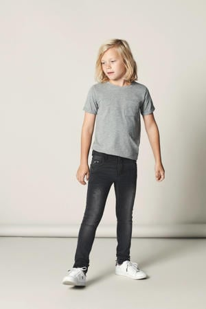 skinny fit jeans NITTRAP zwart