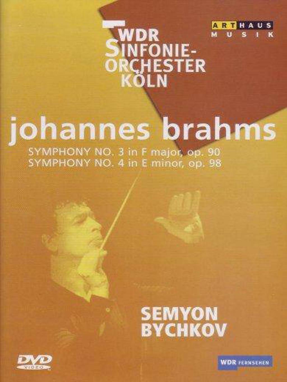 Brahms Symphonies No 3&4 (DVD)