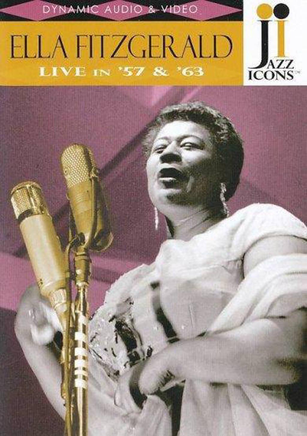 Ella Fitzgerald, Herb Elis, Ray Bro - Ella Fitzgerald Jazz Icons (DVD)
