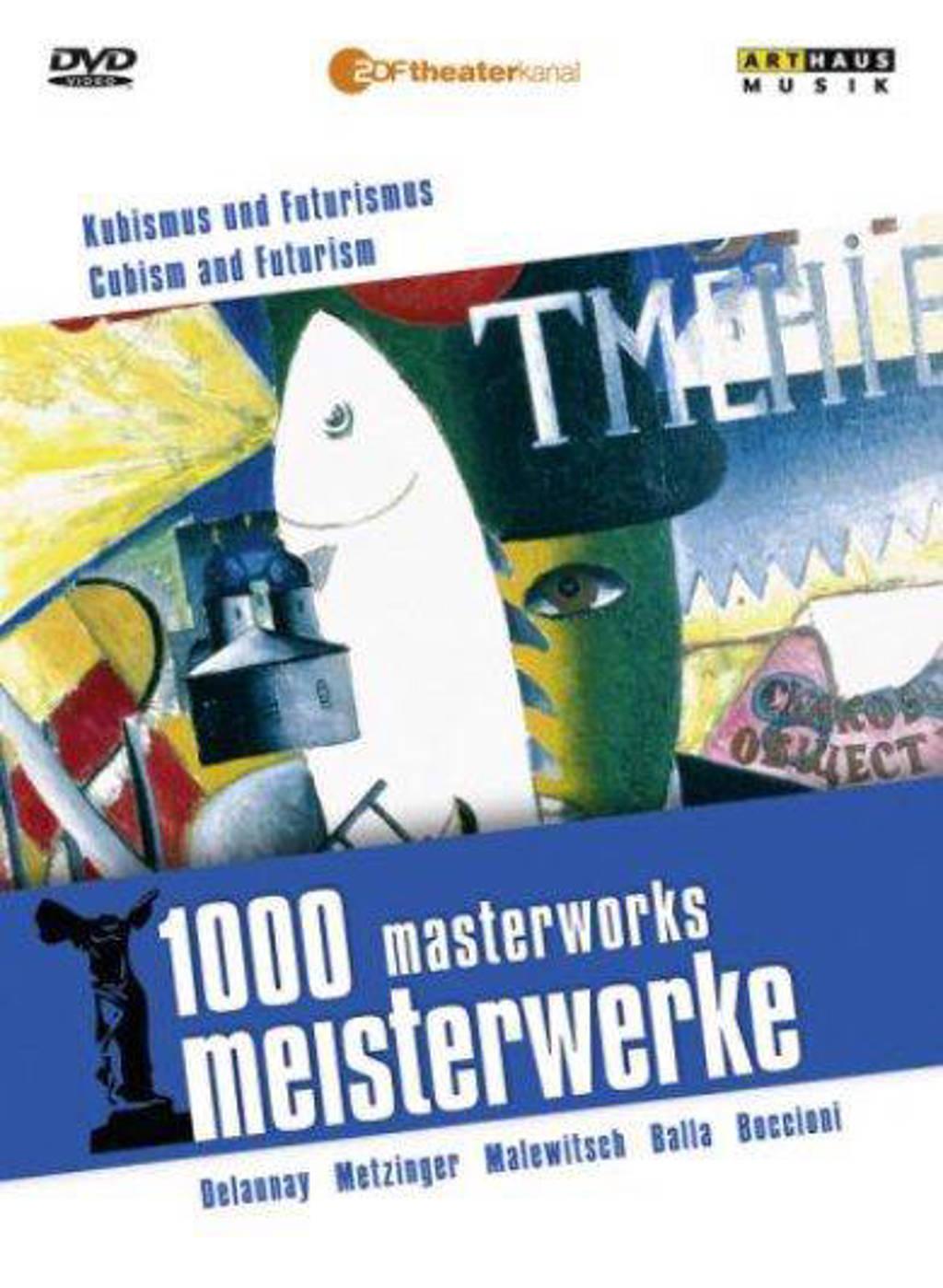 Delauny , Metzinger, Balla,Malewitc - 1000 Masterworks Cubism & Futurism (DVD)