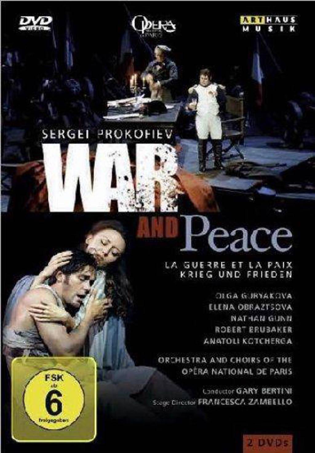 War And Peace Parijs 2000 (DVD)