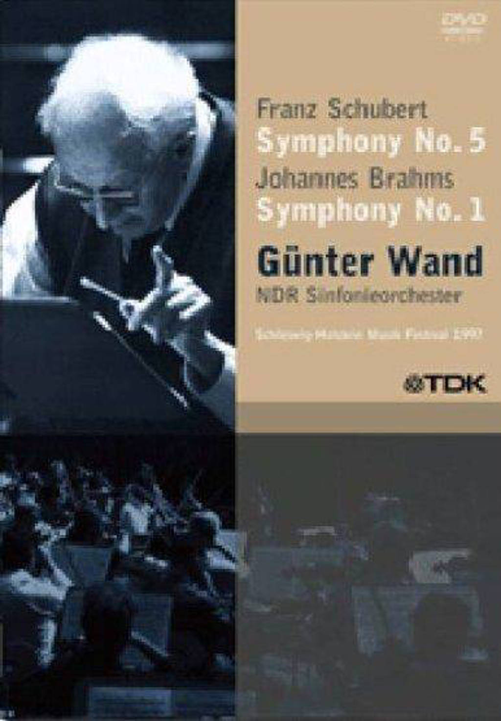 Ndr Sinfonieorchester - Gunter Wand Vol 7 (DVD)