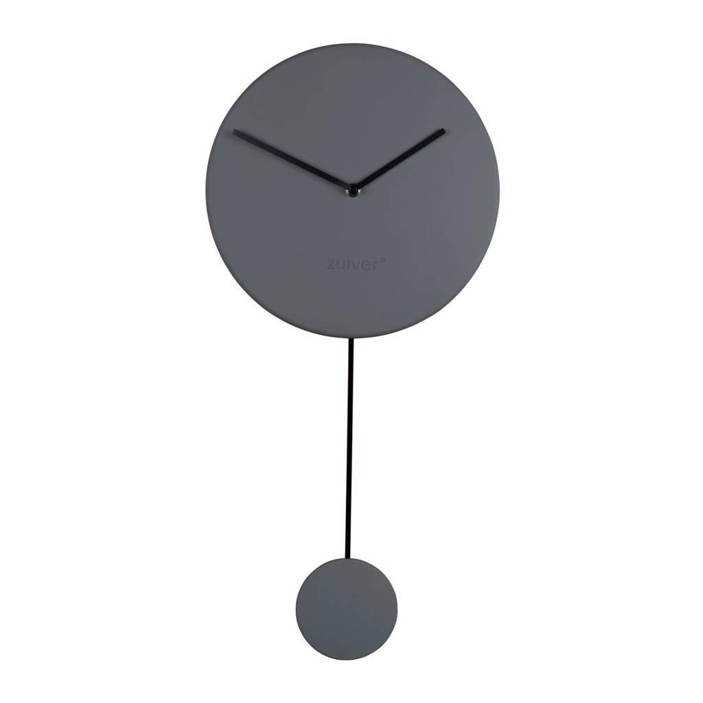 Zuiver klok Minimal (Ø30 cm), Grijs/zwart