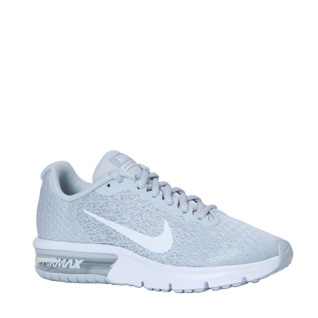 newest a965c aed99 Nike Air Max Sequent 2 (GS) sneakers, Lichtgrijs